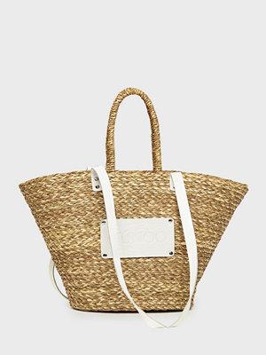NuNoo omönstrad axelväska Large beach bag