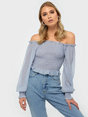 NLY Trend Flowy Smock Top