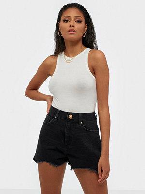 River Island Annie High Waist Denim Shorts