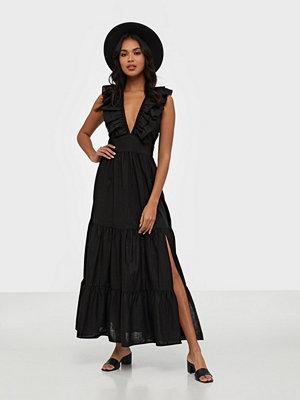 Glamorous V Neck Maxi Printed Dress