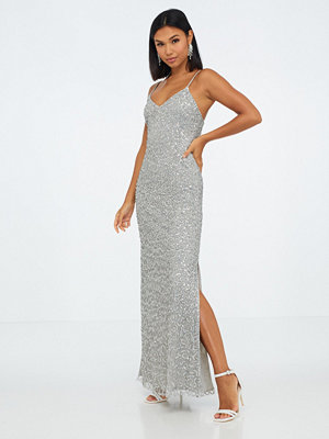 Maya Strappy Sequin Maxi Dress