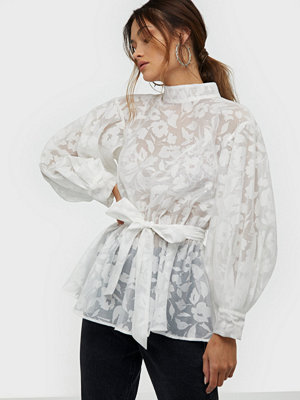 NLY Trend Bloom Organza Blouse