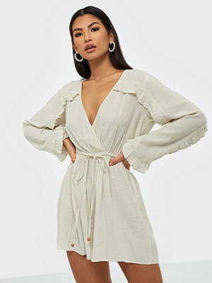 NLY Trend Boho Frill Playsuit