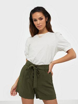 Only Onlkaylee-Ariana Hw Belt Shorts Pnt