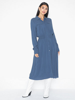 MOSS Copenhagen Caddy Beach LS Shirt Dress