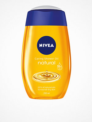 Kropp - Nivea Caring Shower Oil 200 ml Transparent
