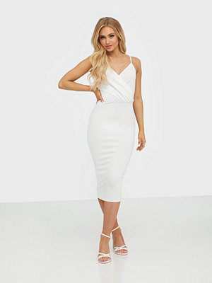 NLY One Wrap Bust Midi Dress