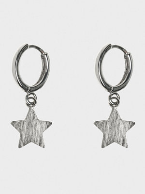 Timi of Sweden örhängen Star Hoop Earrings