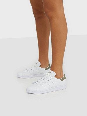 Sneakers & streetskor - Adidas Originals Stan Smith Vit/Grön