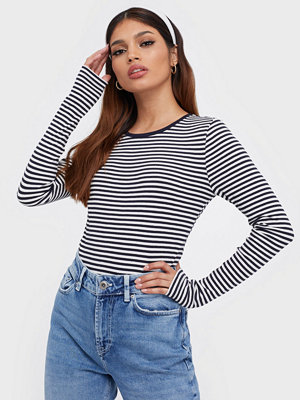 Only Onlsoho L/S Rib Top Jrs
