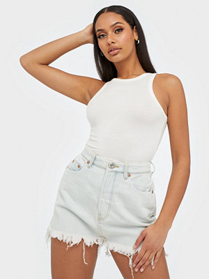 One Teaspoon VANGUARD MID RISE DENIM SKIRT