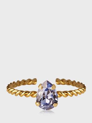 Caroline Svedbom Niki Ring Gold Lavender