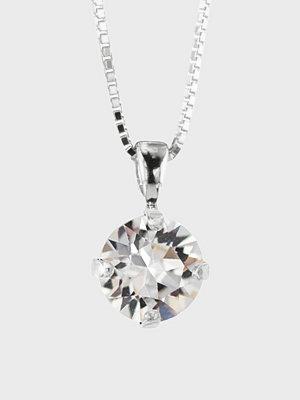 Caroline Svedbom halsband Classic Petite Necklace Rhodium