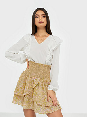 co'couture Medusa Flower Smock Skirt