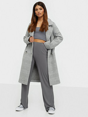 River Island Check Drop Coat