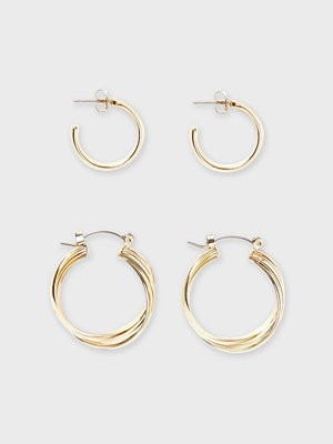 Pieces örhängen Pcnanni 2-Pack Earrings Sww
