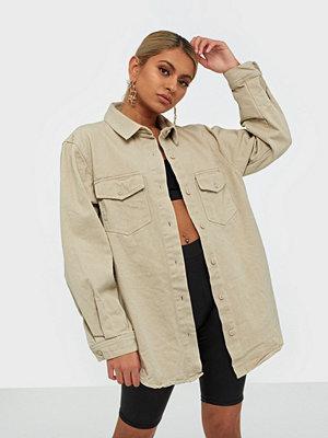 Missguided Superoversized Denim Shirt