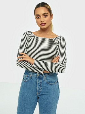 Pieces Pcalicia Ls Off-Shoulder Top Bc