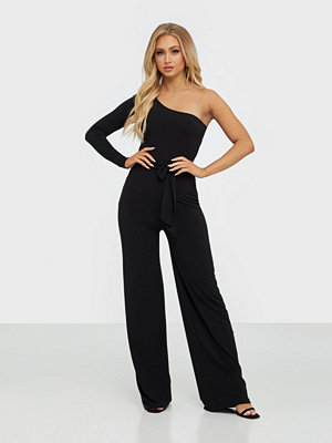 Jumpsuits & playsuits - NLY One One Shoulder Tie Jumpsuit