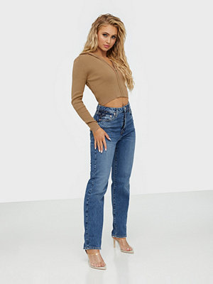 River Island Sky High Straight Lolly Jeans