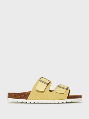 Tofflor - Vero Moda Vmcarla Leather Sandal