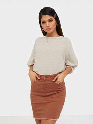 Pieces Pcaia Mw Coloured Skirt-Vi/Cp