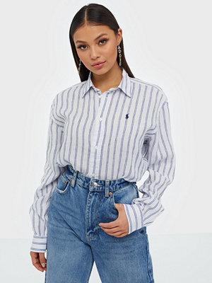 Polo Ralph Lauren Striped Long Sleeve Linen Shirt