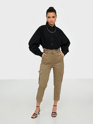 co'couture omönstrade byxor Trinity Crop Pant