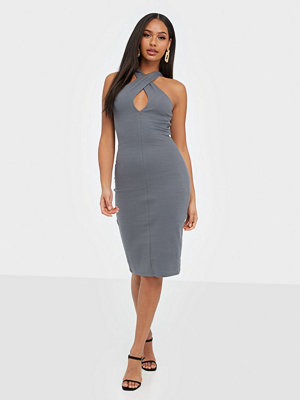 NLY Trend Wrap Neckline Dress