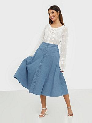Kjolar - Selected Femme Slfjoy Mw Midi Skirt W