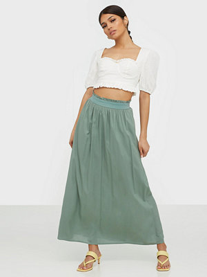 Only Onlvenedig Paperbag Long Skirt Wvn