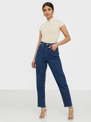 Jeans - Wrangler Mom Jeans Deep Sea