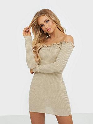 NLY One Rib Ruffle Dress
