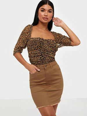 Kjolar - Pieces Pcaia Mw Coloured Skirt-Vi/Cp