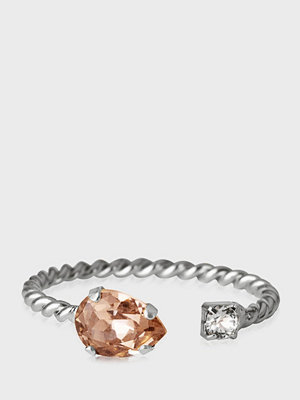 Caroline Svedbom Nani Ring Rhodium Rose