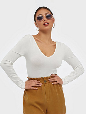 NLY Trend V Neck Crop Top