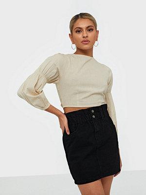 Kjolar - Only Onlmillie Hw Mini Paper Dnm Skirt G