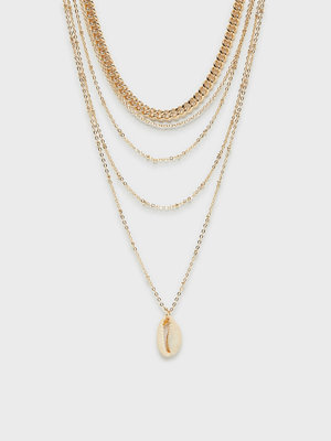 Vero Moda halsband Vmmaple Shell Necklace