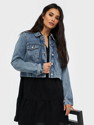 Vero Moda VMMIKKY LS CROPPED DENIM JACKET VI3