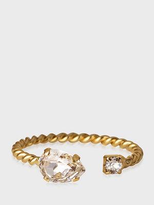 Caroline Svedbom Nani Ring Gold Crystal