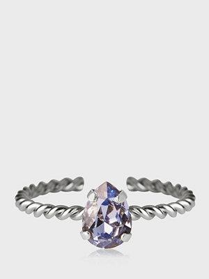 Caroline Svedbom Niki Ring Rhodium Lavender
