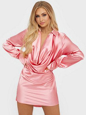 NLY One Satin Shirt Dress