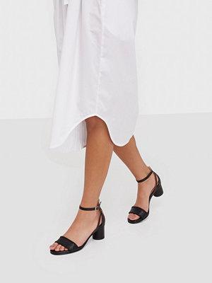 Pumps & klackskor - Selected Femme Slfmerle New Leather High Heel Sand