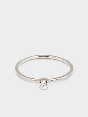 Syster P svart smycke Tiny Princess Ring