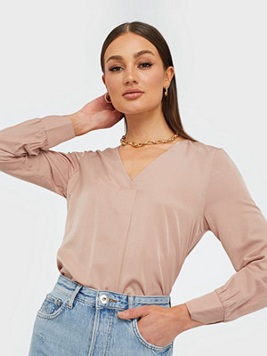 Object Collectors Item Objeileen L/S V-Neck Top Noos