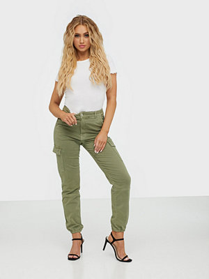 Gina Tricot byxor Slim Cargo Pants