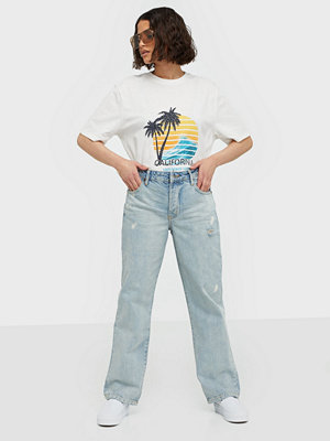 One Teaspoon Kansas Truckers Mid Rise Jeans