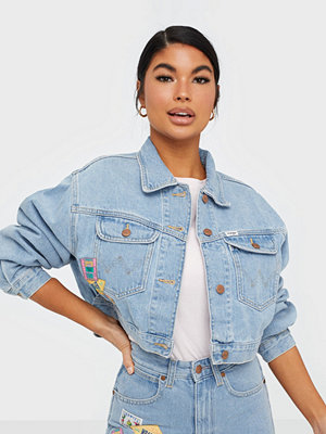 Jeansjackor - Wrangler 80'S Cropped Jacket Honolulu