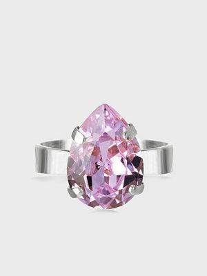 Caroline Svedbom Mini Drop Ring Rhodium
