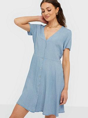 Only Onlmiranda S/S Short Button Dress